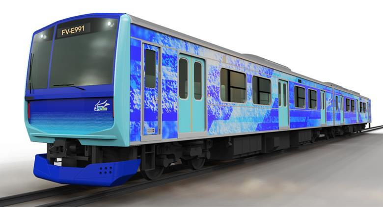 Japan: EJP, Hitachi und Toyota testen Wasserstoff Zug