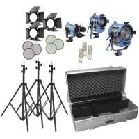 Arri Lighting 150/300/650w Compact Fresnel Kit Studio ...