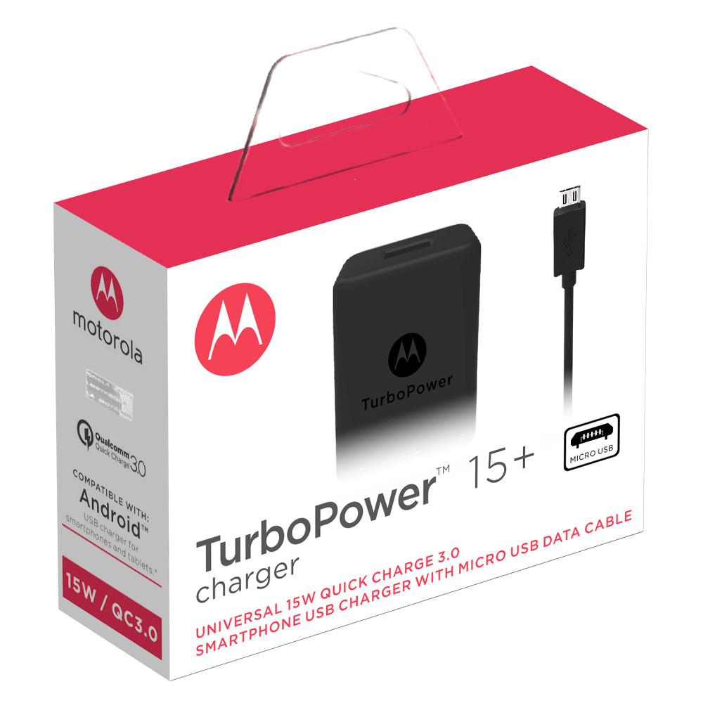 medium resolution of motorola turbopower 15 mobile wall charger micro usb cable