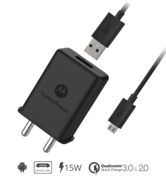turbopower 15 turbo fast mobile wall charger micro usb charging cable motorolachargers india [ 1000 x 1000 Pixel ]
