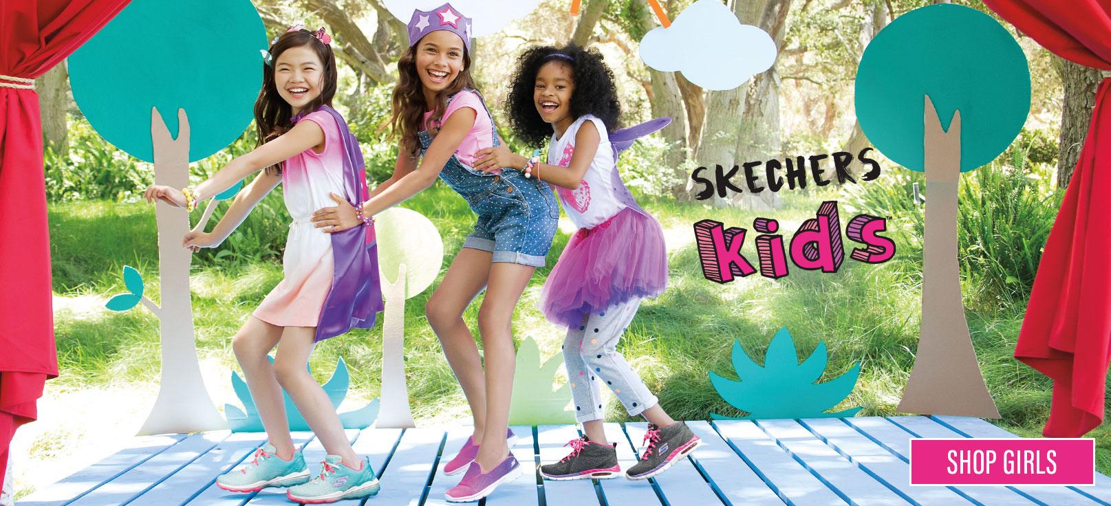 Kids Skechers Light Shoes