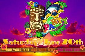 Customizable Design Templates For Luau Party PosterMyWall
