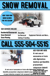 250 Customizable Design Templates For Snow Removal