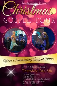 Customizable Design Templates for Gospel Concert