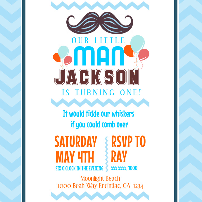 Birthday Invitation Instagram Post Template PosterMyWall
