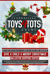 Customizable Design Templates for Toys For Tots  PosterMyWall
