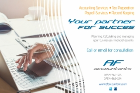 Customizable Design Templates For Accounting Services PosterMyWall