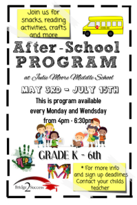 Customizable Design Templates For After School Program