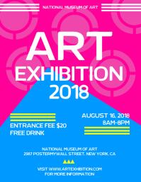 art event flyers ferdin