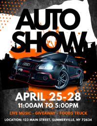 22310 Customizable Design Templates For Car Show Event
