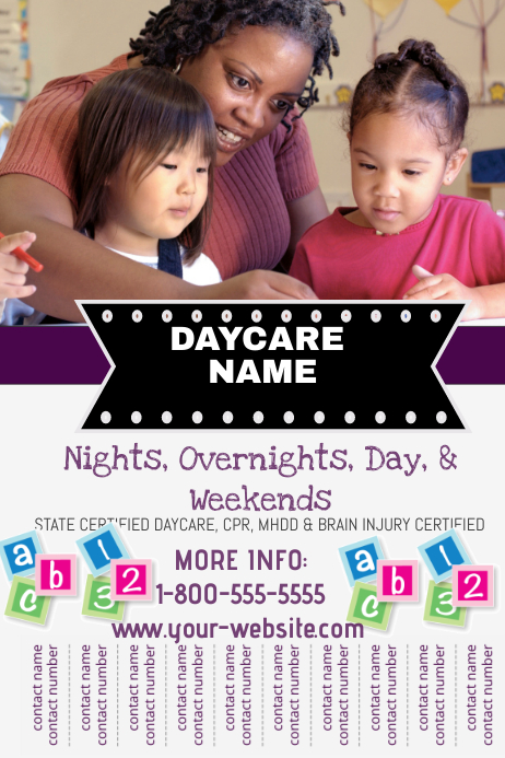 Babysitting Flyer Template PosterMyWall