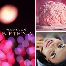 11 730 birthday invitation video maker