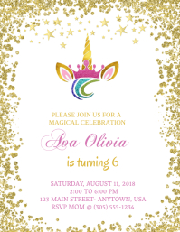 8 110 birthday invitation