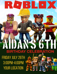 26 610 roblox birthday celebration