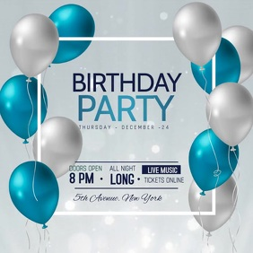 happy birthday poster templates