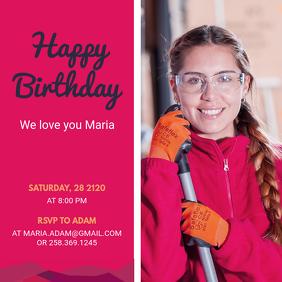 create free birthday posters