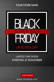 Black Friday Flyer Templates Postermywall
