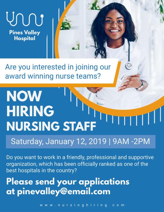 blaue krankenschwester job einstellung