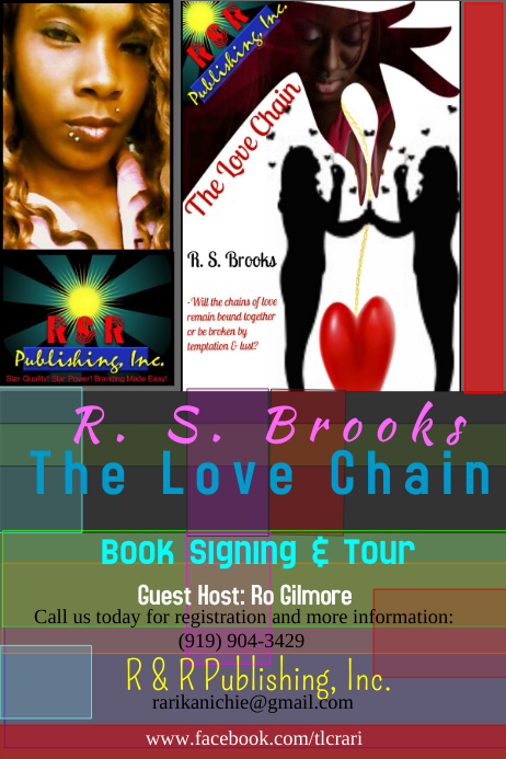 book signing flyer template