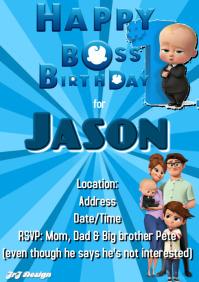 boss baby customizable design templates