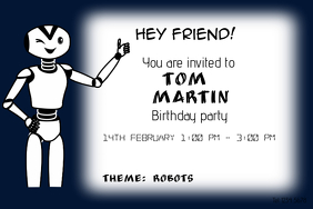 Customizable Design Templates For Robotics PosterMyWall