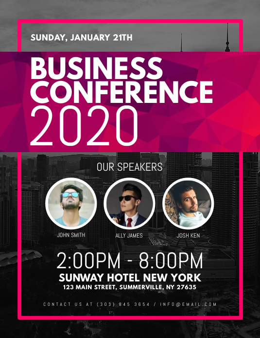 Business Conference Flyer Template  PosterMyWall