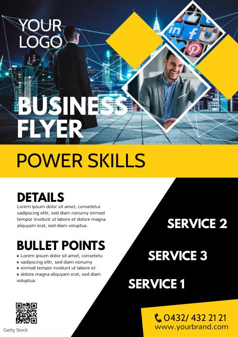 business flyer marketing poster