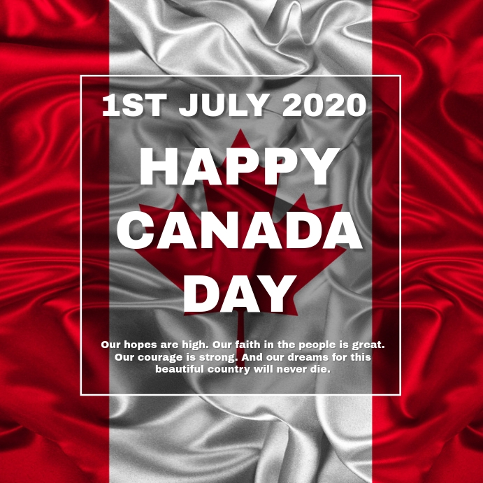 Canada Day Template Postermywall