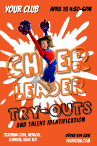 Cheerleading Poster Templates  PosterMyWall