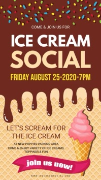 Customize 700+ Ice Cream Poster Templates | PosterMyWall