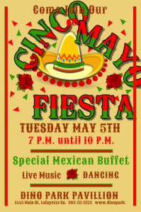 570 mexican fiesta customizable design