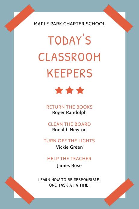 poster maker for schools
