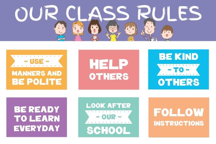 create free school posters