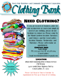 660 Customizable Design Templates For Clothing Drive