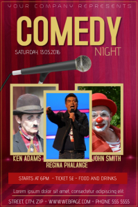 170 Customizable Design Templates for Comedy  PosterMyWall
