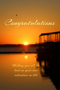 Customizable Design Templates For Congratulations