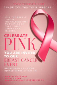 170 Customizable Design Templates for Breast Cancer  PosterMyWall