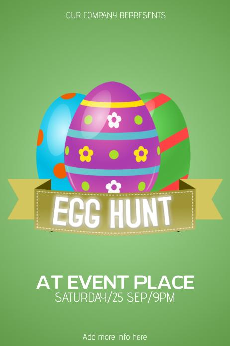 easter egg hunt poster yerat