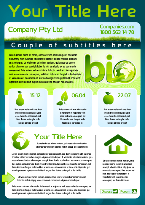 Eco Campaign Flyer Template | PosterMyWall