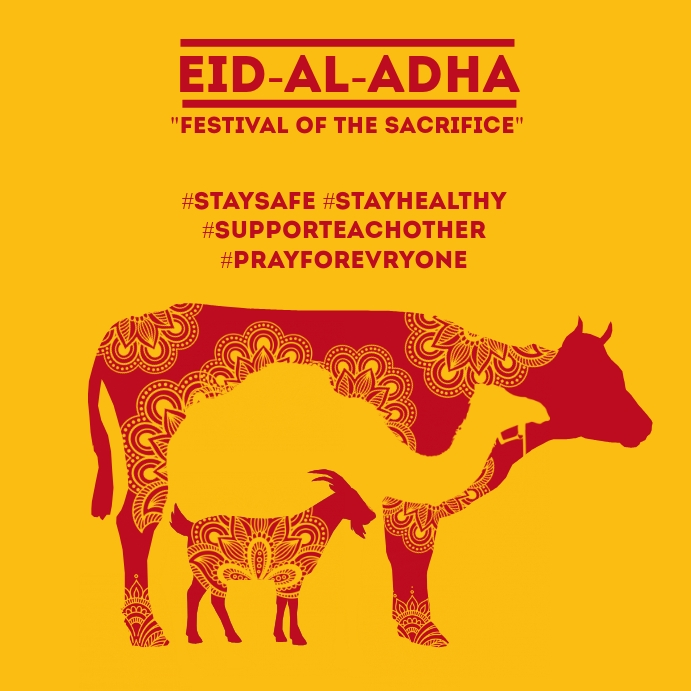 Eid Al Adha Mubarak Template Postermywall