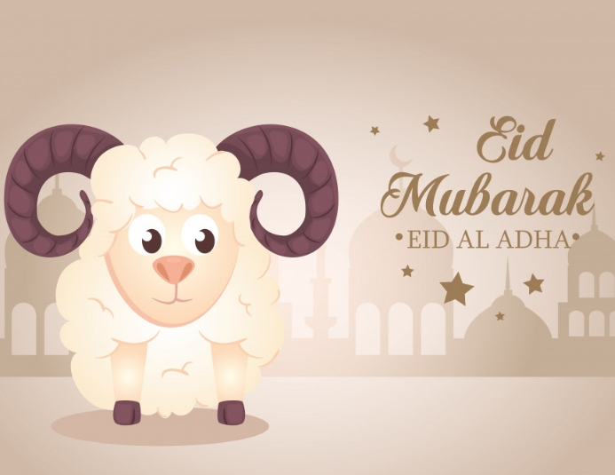 Eid Mubarak Eid Ul Udha Template Postermywall
