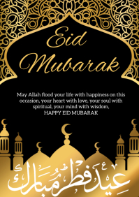 510 Eid Mubarak Customizable Design Templates Postermywall