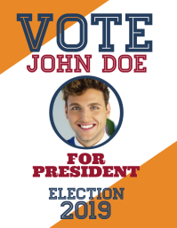 940 elections customizable design