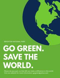 700 Templat Desain Go Green Yang Bisa Dikustomisasi Postermywall
