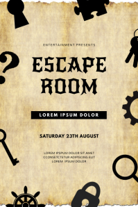 290 escape room customizable design