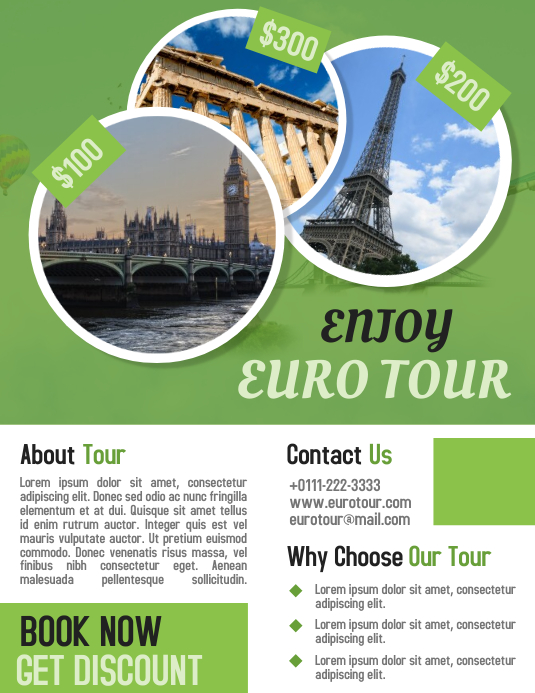 euro tour travel business