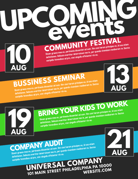 Customize 26690 Event Flyer Templates PosterMyWall