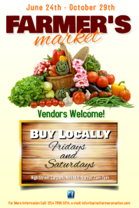 Customizable Design Templates for Farmers Market  PosterMyWall