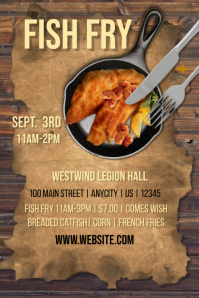 Customizable Design Templates for Fish Fry  PosterMyWall