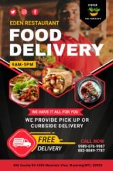 Customize 14 540+ Restaurant Flyer Templates PosterMyWall